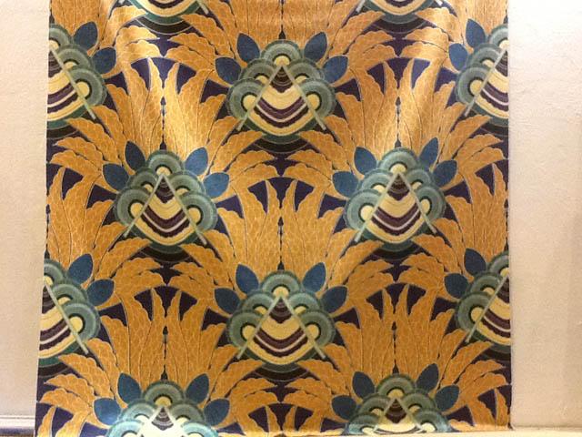 Scandecor artdeco fabrics for Fabric with art deco design